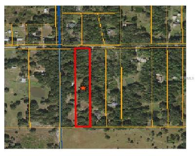 Plant City Residential Lots & Land For Sale: 2851 Bruton Road