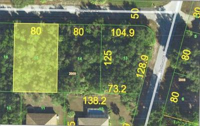 Port Charlotte Residential Lots & Land For Sale: 14379 Pennykamp Avenue