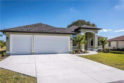 Punta Gorda Single Family Home For Sale: 3751 Bal Harbor Boulevard