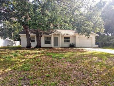 North Port Single Family Home For Sale: 2836 Sally Lane