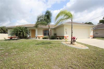 North Port Single Family Home For Sale: 2640 Allegheny Lane