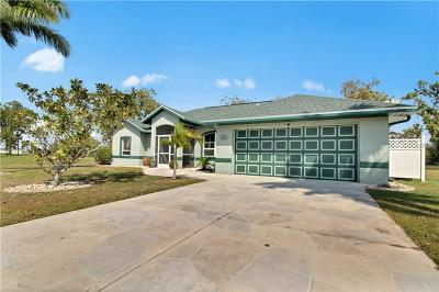 Punta Gorda Single Family Home For Sale: 16257 Perdida Ct