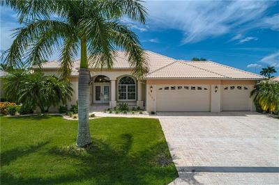 Punta Gorda Isles Sec 15, Burnt Store Isles, Burnt Store Isles Sec 15, Burnt Store Isles/Punta Gorda Isles Single Family Home For Sale: 3663 S Crete Drive