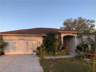 North Port Single Family Home For Sale: 3070 S Sumter Boulevard