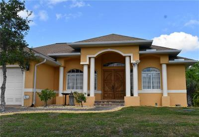 Punta Gorda Single Family Home For Sale: 3119 Caribbean Drive