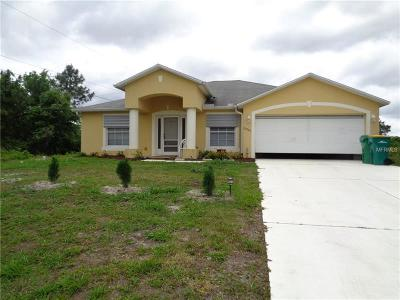 Port Charlotte Single Family Home For Sale: 22395 Cheryl Avenue