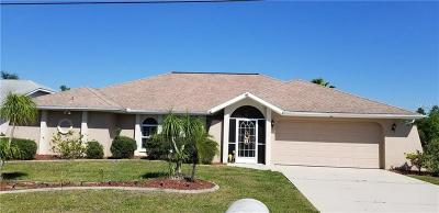 Punta Gorda Single Family Home For Sale: 2308 Mauritania Road