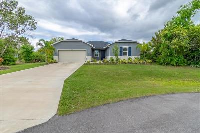Punta Gorda Single Family Home For Sale: 10241 Oak Hammock Drive