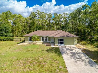 North Port Single Family Home For Sale: 5406 Mojave Avenue
