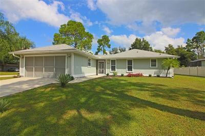 North Port Single Family Home For Sale: 4890 La Rosa Avenue