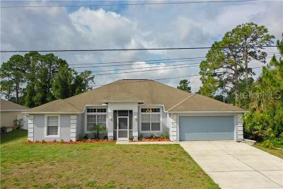 North Port Single Family Home For Sale: 2237 Bonanza Lane