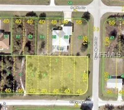 Punta Gorda Residential Lots & Land For Sale: 2047 Broadpoint Drive