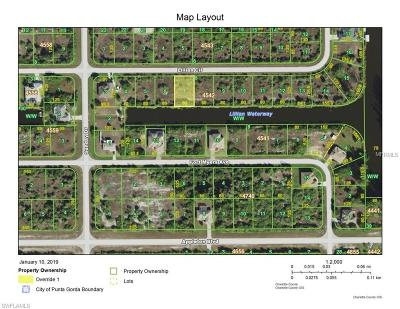 Port Charlotte Residential Lots & Land For Sale: 14630 Lillian Circle