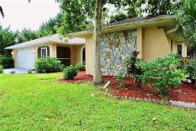 Port Charlotte Single Family Home For Sale: 18297 Driggers Avenue