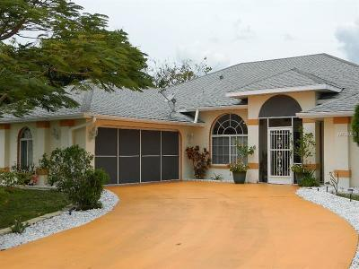 Punta Gorda Single Family Home For Sale: 27232 Punta Cabello Court