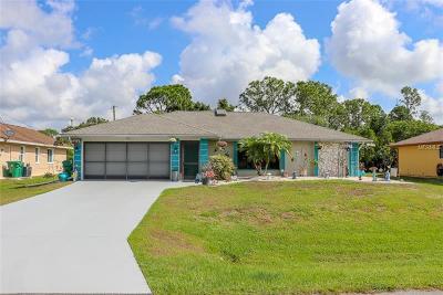 Port Charlotte Single Family Home For Sale: 23160 Nancy Avenue