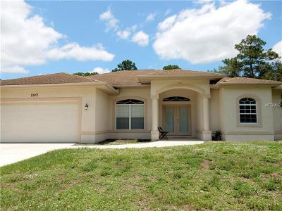 North Port Single Family Home For Sale: 2812 Pascal Ave