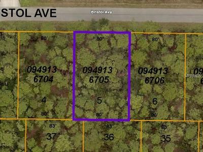 Residential Lots & Land For Sale: 8517 Bristol (Lot 5) Avenue