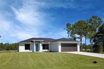 Port Charlotte Single Family Home For Sale: 3443 Swanee Road