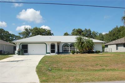 North Port Single Family Home For Sale: 2841 Colonade Lane