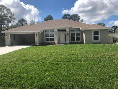 North Port Single Family Home For Sale: 0000 Pasadena Lane
