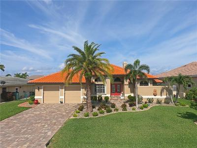 Punta Gorda Single Family Home For Sale: 2150 Palm Tree Dr