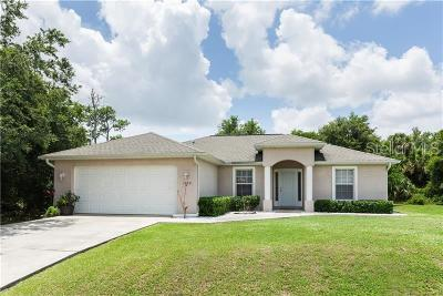 North Port Single Family Home For Sale: 5039 Rosette Road
