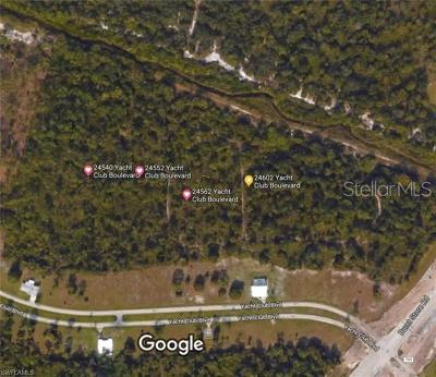 Punta Gorda Residential Lots & Land For Sale: 24602245622455224540 Yacht Club Boulevard