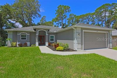 North Port Single Family Home For Sale: 1343 Shaker Lane