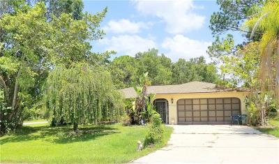Charlotte County Single Family Home For Sale: 5376 Joslyn Terrace