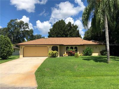Port Charlotte FL Single Family Home For Sale: $180,000