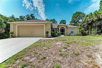 Port Charlotte Single Family Home For Sale: 18359 Gypsy Avenue