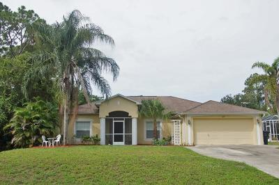 North Port Single Family Home For Sale: 1437 Purple Lane