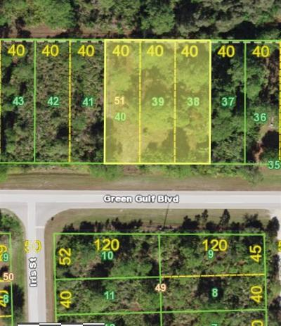 Residential Lots & Land For Sale: 27366 Green Gulf Boulevard