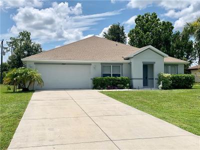 Single Family Home For Sale: 25805 Prada Drive