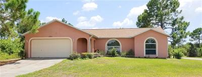 Charlotte County Single Family Home For Sale: 5361 Gillot Boulevard