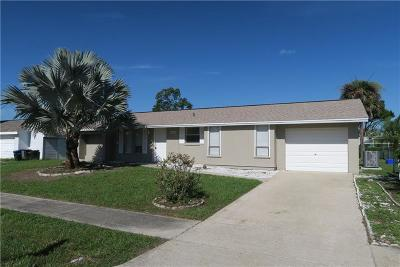 North Port Single Family Home For Sale: 3295 Anador Street