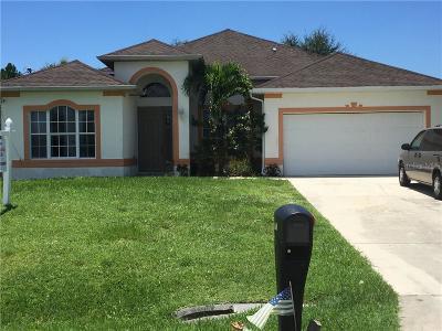 Lehigh Acres Single Family Home For Sale: 148 Carlisle Avenue S
