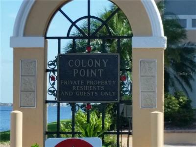 Punta Gorda Rental For Rent: 1 Colony Point Drive #19B
