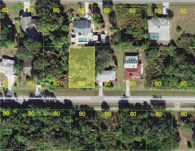 Port Charlotte Residential Lots & Land For Sale: 21450 Quesada Avenue