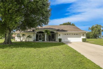 Punta Gorda Single Family Home For Sale: 25207 Alcazar Drive