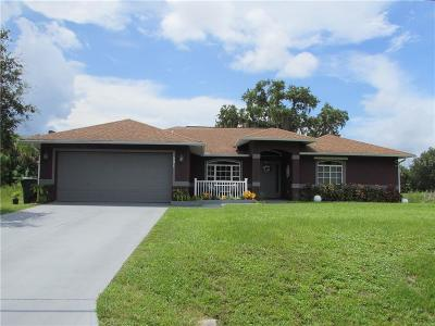 North Port Single Family Home For Sale: 1501 Dexter Road