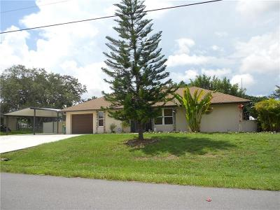 Punta Gorda Single Family Home For Sale: 27051 Cougar Place