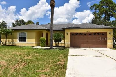 North Port Single Family Home For Sale: 3872 Candia Avenue