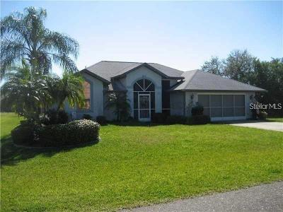 Charlotte County Single Family Home For Sale: 27175 Tierra Del Fuego Circle