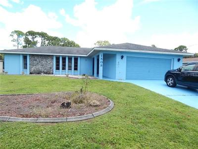 Port Charlotte Single Family Home For Sale: 1508 Hinton Street