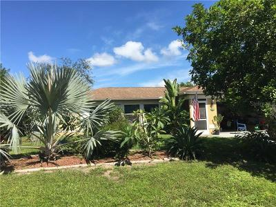 Port Charlotte Single Family Home For Sale: 5427 Brussels Terrace