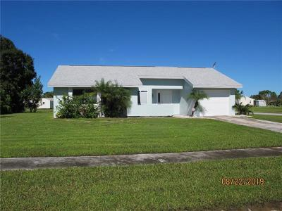 North Port Single Family Home For Sale: 7509 Mesa Street