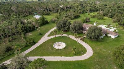 Punta Gorda Single Family Home For Sale: 34745 Trails End Drive