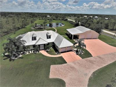 Englewood, Port Charlotte, Punta Gorda, Rotonda, Rotonda West Single Family Home For Sale: 17801 Prairie Creek Boulevard
